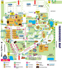 New Orleans Convention Center Map by Fairgrounds Map