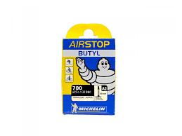 chambre à air valve 80mm michelin airstop butyl a2 700x25 32 presta 40mm jpg