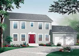 traditional colonial house plans 4 bedrooms up 21744dr architectural designs house plans