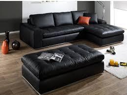 canap d angle de luxe d angle pouf cuir luxe idole cuir italien noir angle droit