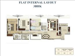 floor plan tropical lagoon thane soham builders limited 2
