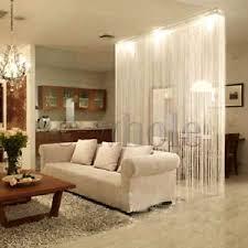 Panel Room Divider White Fringe Door Window Panel Room Divider String Curtain Strip