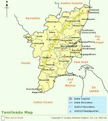 tamil nadu map tamilnadu district map districts maps of tamilnadu