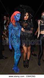 Jade Halloween Costume Mix Tulisa Contostavlos Attend Halloween Party