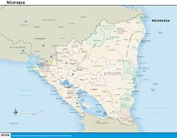 map travel printable travel maps of nicaragua moon travel guides