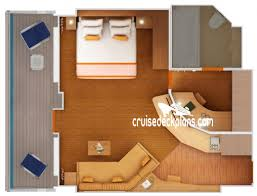 Carnival Freedom Floor Plan Carnival Freedom Penthouse Suite Details