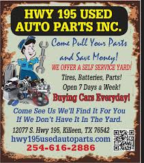car junkyard parts in austin tx hwy 195 used auto parts home facebook