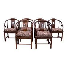 Dining Room Armchairs Henredon Chinoiserie Dining Room Chairs Set Of 6 Chairish