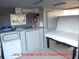 ford transit van to diy campervan conversion vw westphalia van