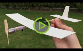 how to make a plane with dc motor which flies in circles diy