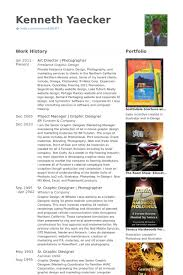 Photographers Resume Sample by Art Director Resume Samples Visualcv Resume Samples Database
