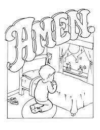 lords prayer coloring pages kids parents teachers