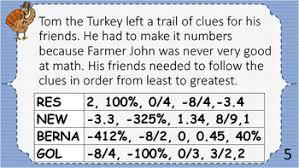thanksgiving scavenger hunt middle school math by a math mindset