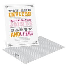 birthday party invitations custom designs from pear tree