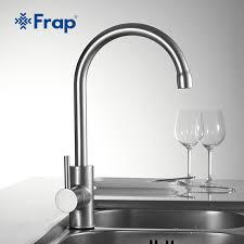 classic kitchen faucets frap classic kitchen faucet space aluminum brushed process swivel