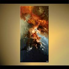 decor painting painting vertical home decor painting earth tones 5792