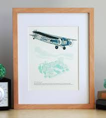 ford tri motor airplane art print art prints u0026 posters fickle