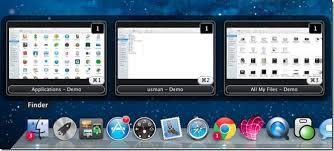 Windows 7 Top Bar Dockview Adds Windows 7 Like Customizable Live Preview To Mac Dock