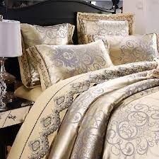 Royal Bedding Sets Luxury Royal Satin Jacquard Cotton Bedding Set Amare Wedding