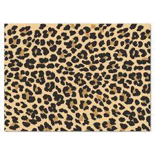 leopard print tissue paper stylish leopard print tissue paper zazzle