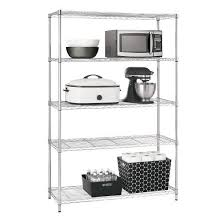 Target Plastic Shelves by Adjustable 5 Tier Wire Wide Shelving Unit Chrome Room