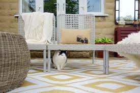 an outdoor makeover for chooch the cat with sandtex rapid dry paint