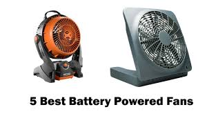 battery operated fan best battery powered fans in 2017