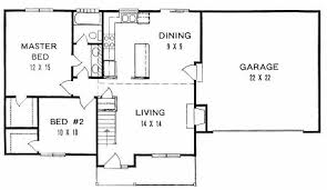 starter home plans plan 0908 ranch style wide lot starter home w walk in closets