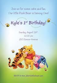 colors free printable winnie pooh birthday invitations