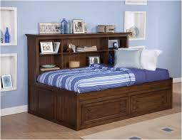 headboards wonderful twin bed with bookcase headboard wonderful