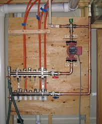radiant floor heating manifold meze