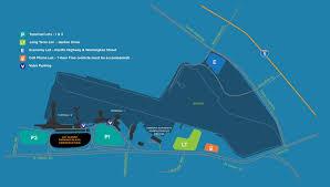Map Of San Diego Airport by San Diego International Airport U003e Parking U0026 Transportation U003e Parking