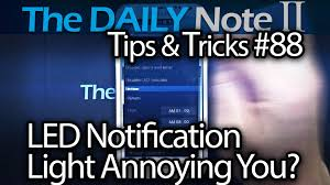 samsung galaxy note 2 tips u0026 tricks ep 88 led notification light