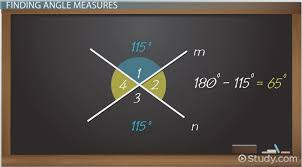 vertical angles in geometry definition u0026 examples video