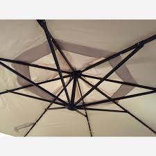 Deck Umbrella Replacement Canopy by Replacement Canopy For Led Offset Solar Umbrella Uxm05201a