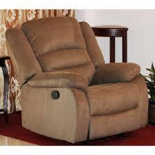 nadia contemporary microfiber recliner chair dark brown s6025