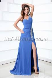 periwinkle formal dresses with one shoulder for spring 1st