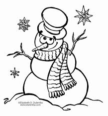 christmas snowman coloring pages getcoloringpages com