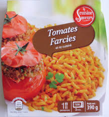 riz cuisiné tomates farcies et riz cuisiné la cuisine des saveurs 390 g