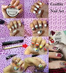 graffiti nail art polishpedia nail art nail guide shellac