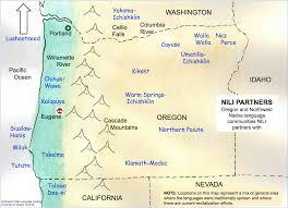 map of oregon us about us nili
