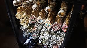 harry potter christmas tree ornaments via orlando wizarding world