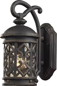 vintage elk lighting 42060 1 tuscany coast exterior wall sconce