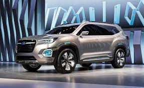 small subaru car subaru viziv 7 concept previews 3 row suv coming in 2018