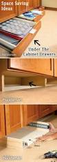 backsplash kitchen cabinet space saver ideas big space saving