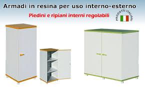 armadietto resina mobili per esterno resina idee di design per la casa