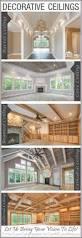 Decorative Homes Greenfield Custom Home Features Exquisite Ceilings U0026 Unique