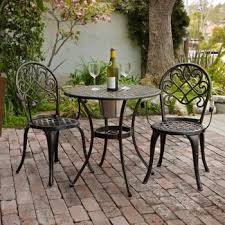 looking for a small bistro set for the deck that won u0027t rust i