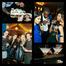 minories cocktail bar launch party dirty martini