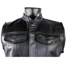 brown leather motorcycle jacket leather motorcycle club vest jafrum